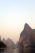 Morning on the Li River