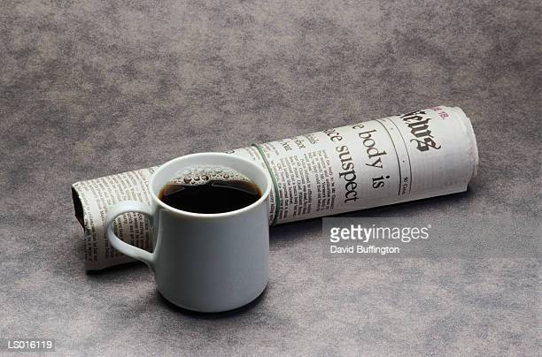 Morning Paper and Coffee