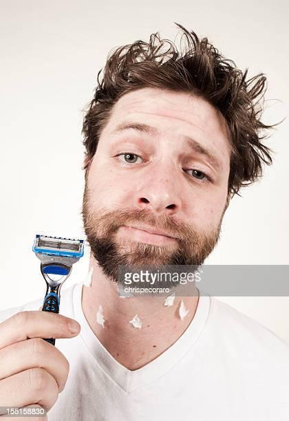 Morning Routine - Ooops, I Cut Myself Shaving!