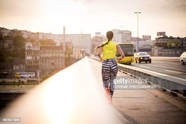 朝のジョギング