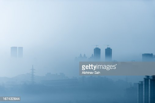 Morning Smog ! : Foto de stock