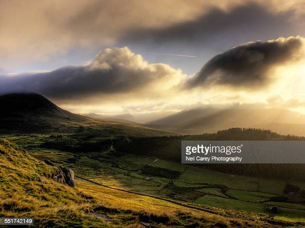 Morning Sunlight, Mourne Mountains