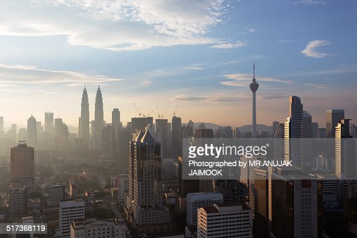 Morning Time in KL, Malaysia