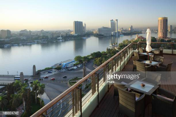 Morning view of Cairo