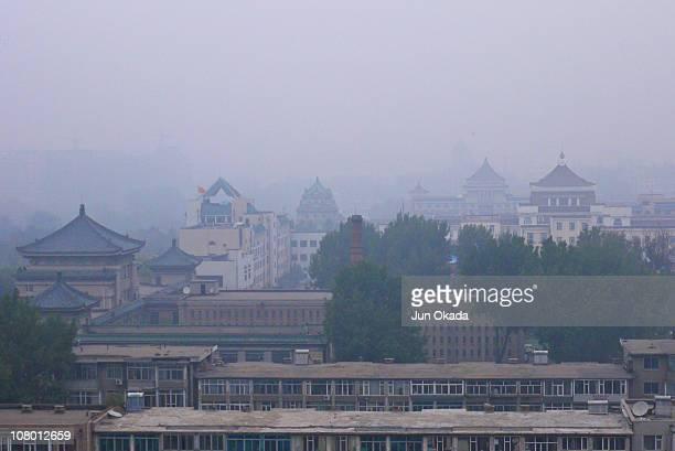 Morning view of Changchun