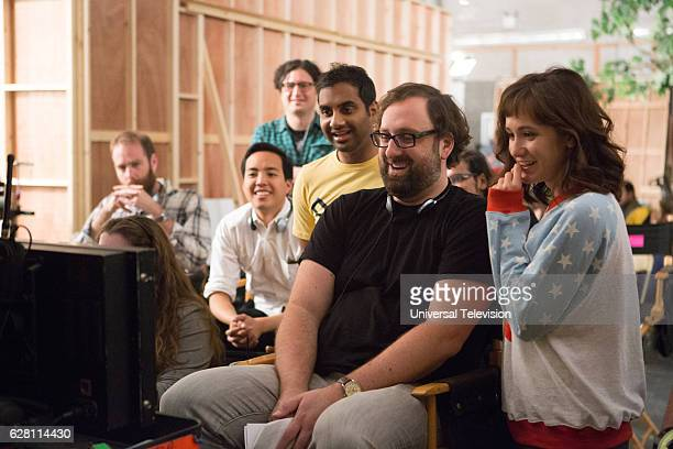 NONE 'Mornings' Episode 109 Pictured Executive Producer Alan Yang Executive Producer Aziz Ansari Eric Wareheim Director Noël Wells