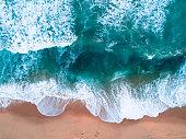 Aerial coastal photograph from the Mornington Peninsula
