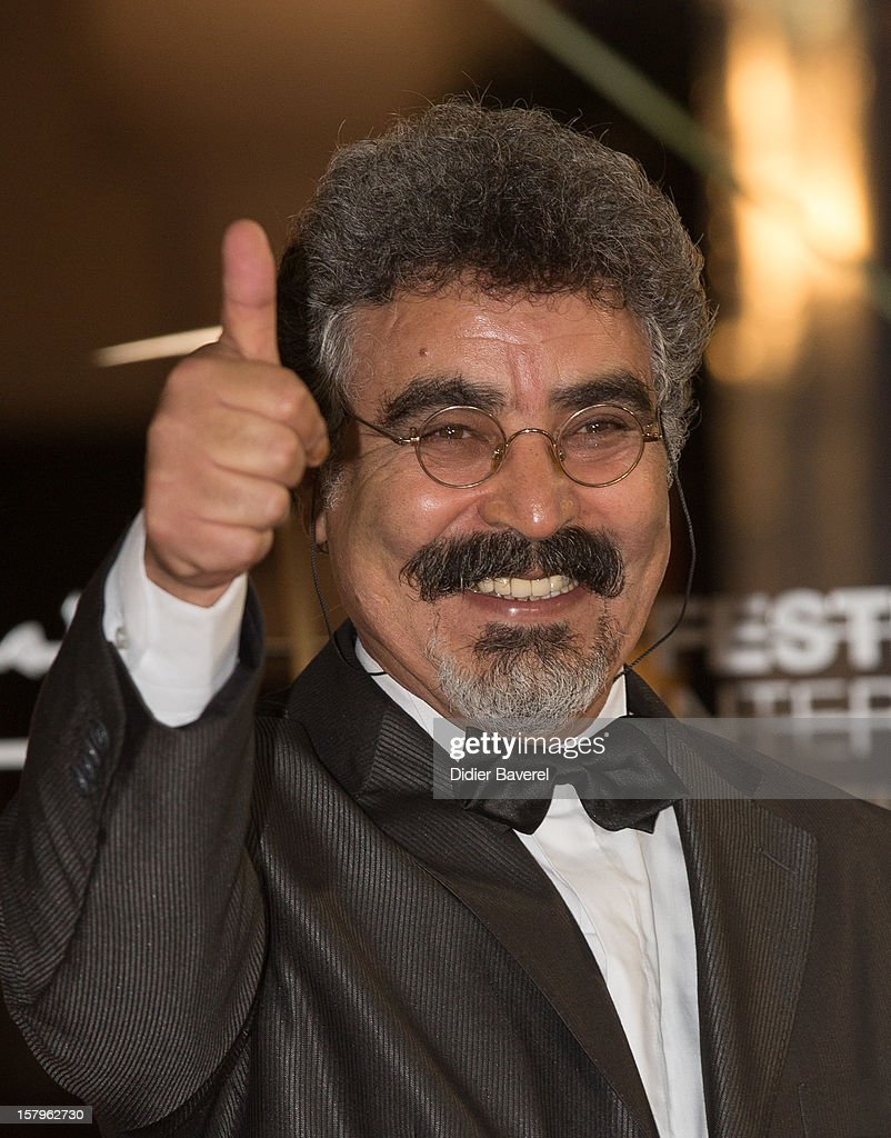 Moroccan actor Mohammed Bastaoui attends the 12th International Marrakech Film Festival on December 7, 2012 in Marrakech, Morocco.