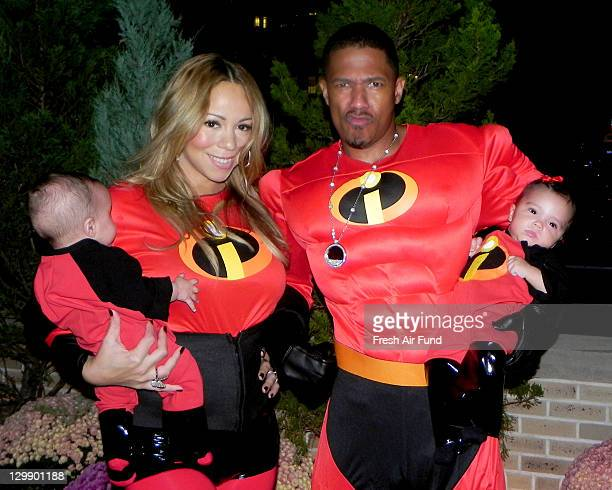 Moroccan Cannon Mariah Carey Nick Cannon and Monroe Cannon taken during the past six months as part of Mariah Carey and Nick Cannon's personal photo...