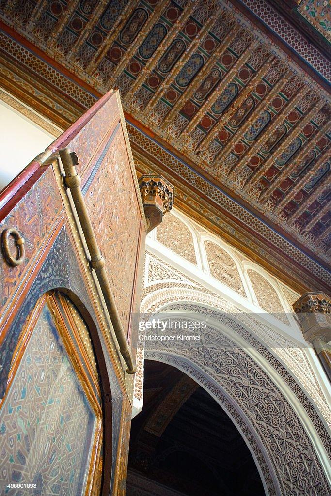 Moroccan Door : Stock Photo