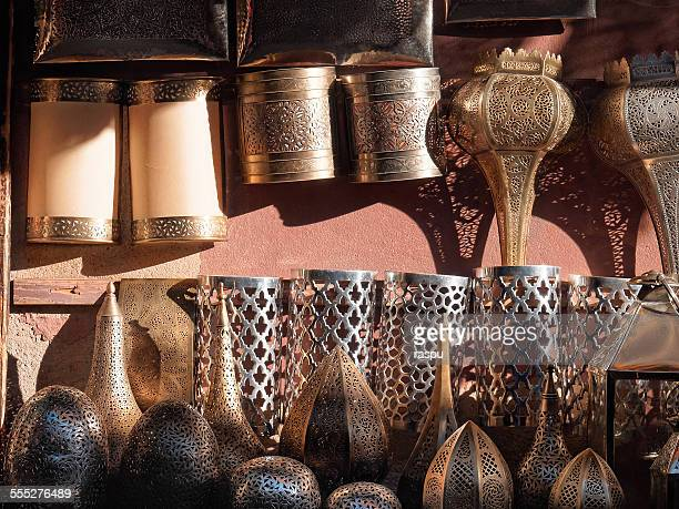 Moroccan lamps, Marrakech