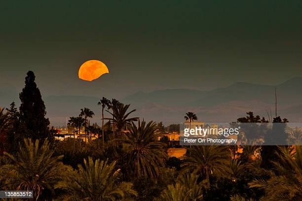 Moroccan moonrise