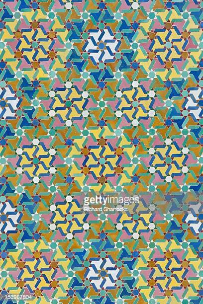 Moroccan mosque tiles
