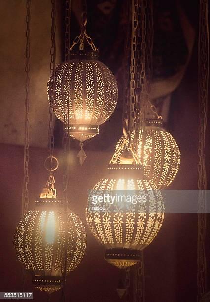 Moroccan pendant lamps, Marrakech - Morocco