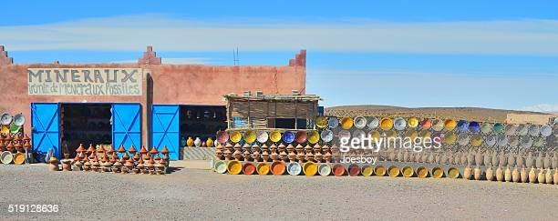 Marocain poterie assistance routière magasin