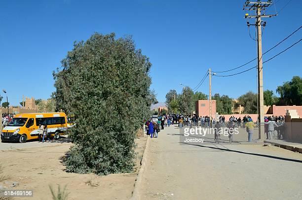 Marocain école enfants en journée