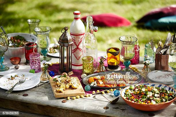 Moroccan summer picnic