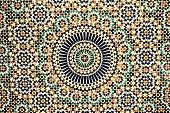 moroccan vintage tile background