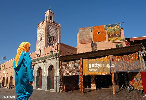 Moroccan Woman on Djemaa El-fna Square