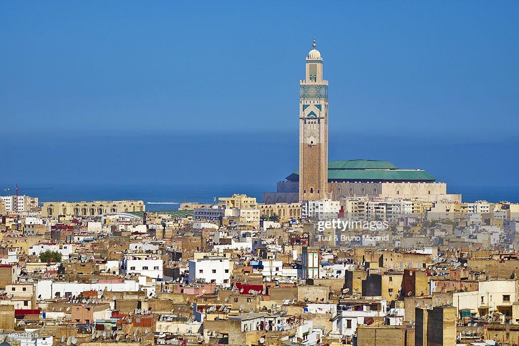 Morocco casablanca hassan ii mosque stock photo getty images - Marocco casablanca ...