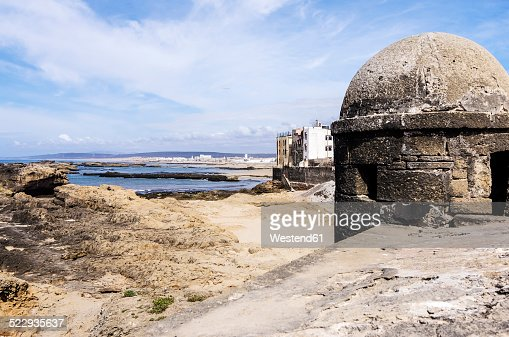 Morocco, Essaouira, Bani Antar, view to the coast