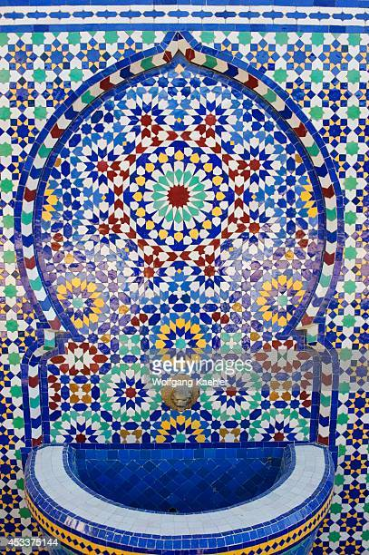 Morocco Fez Pottery District Colorful Ceramic Tiles