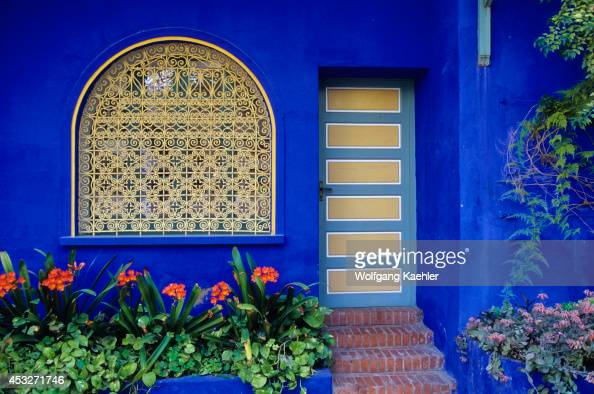 Jardin majorelle stock photos and pictures getty images for Jardin ysl marrakech