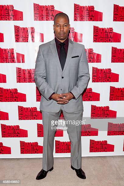 Morocco Omari attends the 'Sticks and Bones' opening night after party at KTCHN Restaurant on November 6 2014 in New York City