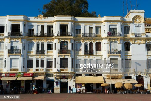 Morocco, Tangier (Tanger), rue d Espagne