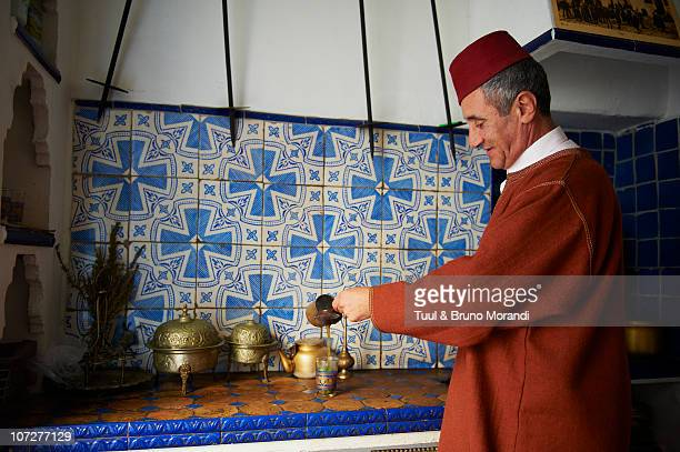 Morocco, Tangier (Tanger), tea house, old city