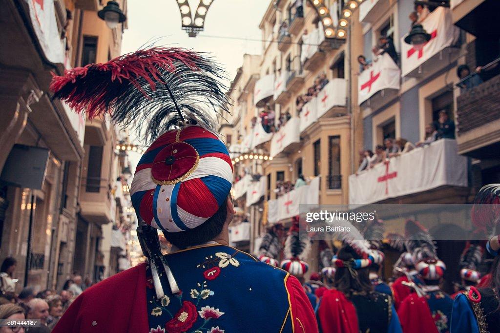 Moros y Cristianos, traditional festival in Alcoy