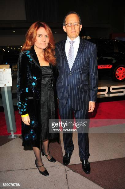 Morosse Sanchez Ramon and William Ramon attend PORSCHE hosts EAST SIDE HOUSE SETTLEMENT gala preview of the 2009 New York International Auto Show at...