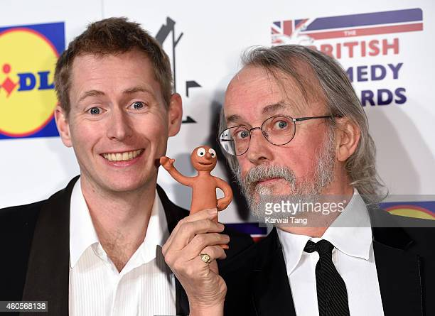 Morph attends the British Comedy Awards at Fountain Studios on December 16 2014 in London England