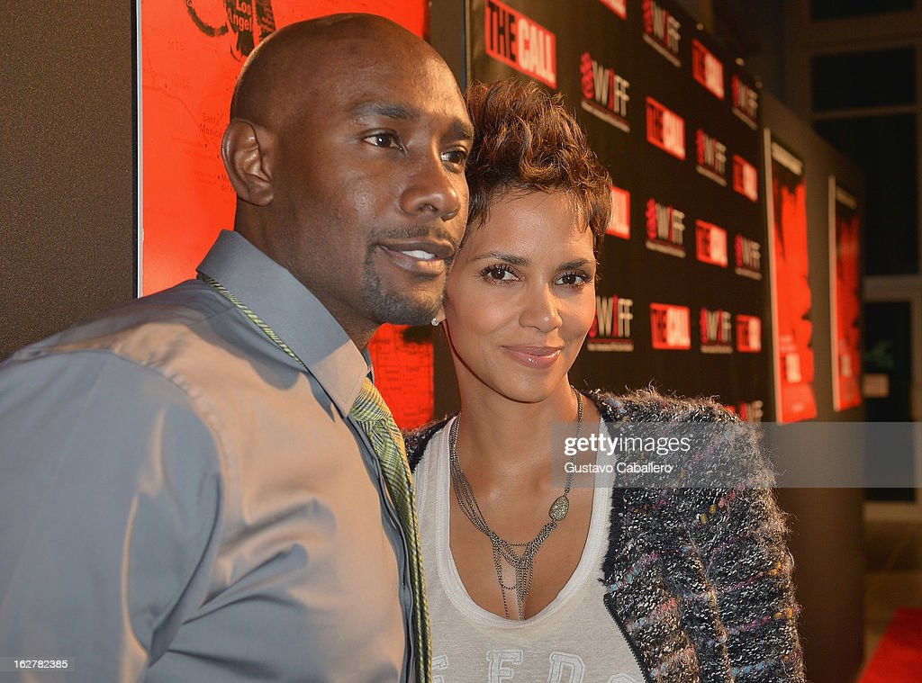 <a gi-track='captionPersonalityLinkClicked' href=/galleries/search?phrase=Morris+Chestnut&family=editorial&specificpeople=707699 ng-click='$event.stopPropagation()'>Morris Chestnut</a> and <a gi-track='captionPersonalityLinkClicked' href=/galleries/search?phrase=Halle+Berry&family=editorial&specificpeople=201726 ng-click='$event.stopPropagation()'>Halle Berry</a> attend 'The Call' red carpet screening hosted by the Woman's International Film Festival at Regal South Beach on February 26, 2013 in Miami, Florida.