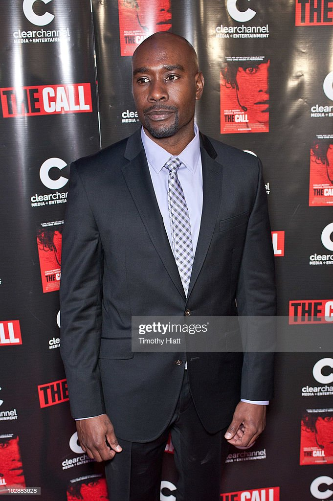 Morris Chestnut attends 'The Call' premiere at Showplace Icon Theater on February 28, 2013 in Chicago, Illinois.