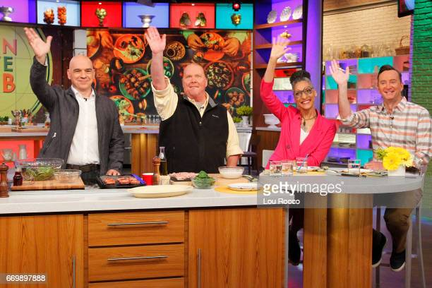 THE CHEW Morris Chestnut is the guest Tuesday April 18 2017 on ABC's 'The Chew' 'The Chew' airs MONDAY FRIDAY on the ABC Television Network KELLY