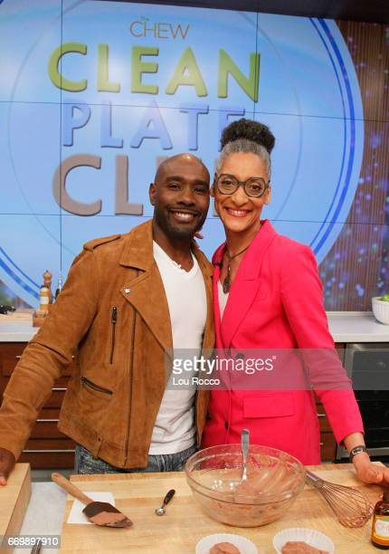 THE CHEW Morris Chestnut is the guest Tuesday April 18 2017 on ABC's 'The Chew' 'The Chew' airs MONDAY FRIDAY on the ABC Television Network HALL