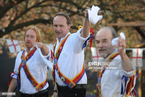 Morris dancers celebrate the launch of British asparagus season A host of asparagus fans gather today St George's Day to eccentrically celebrate the...