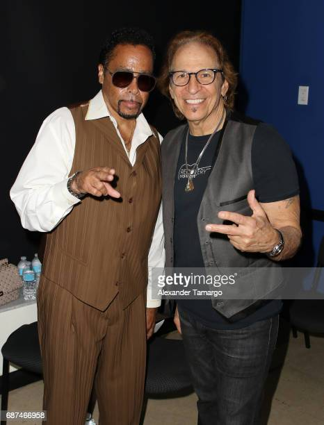 Morris Day and Richie Supa pose at Recovery Unplugged Treatment Center on May 23 2017 in Ft Lauderdale Florida