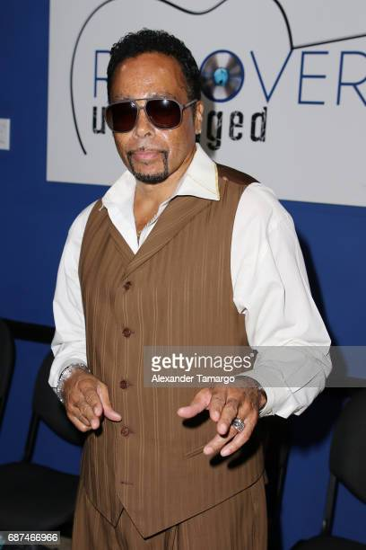 Morris Day poses at Recovery Unplugged Treatment Center on May 23 2017 in Ft Lauderdale Florida