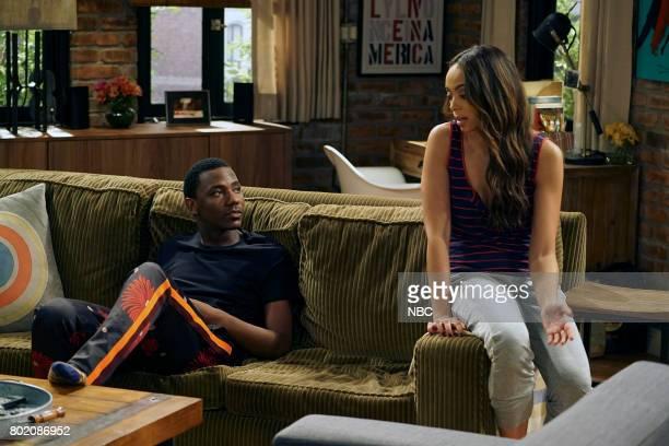 SHOW 'Morris' Episode 308 Pictured Jerrod Carmichael as Jerrod Carmichael Amber Stevens West as Maxine North