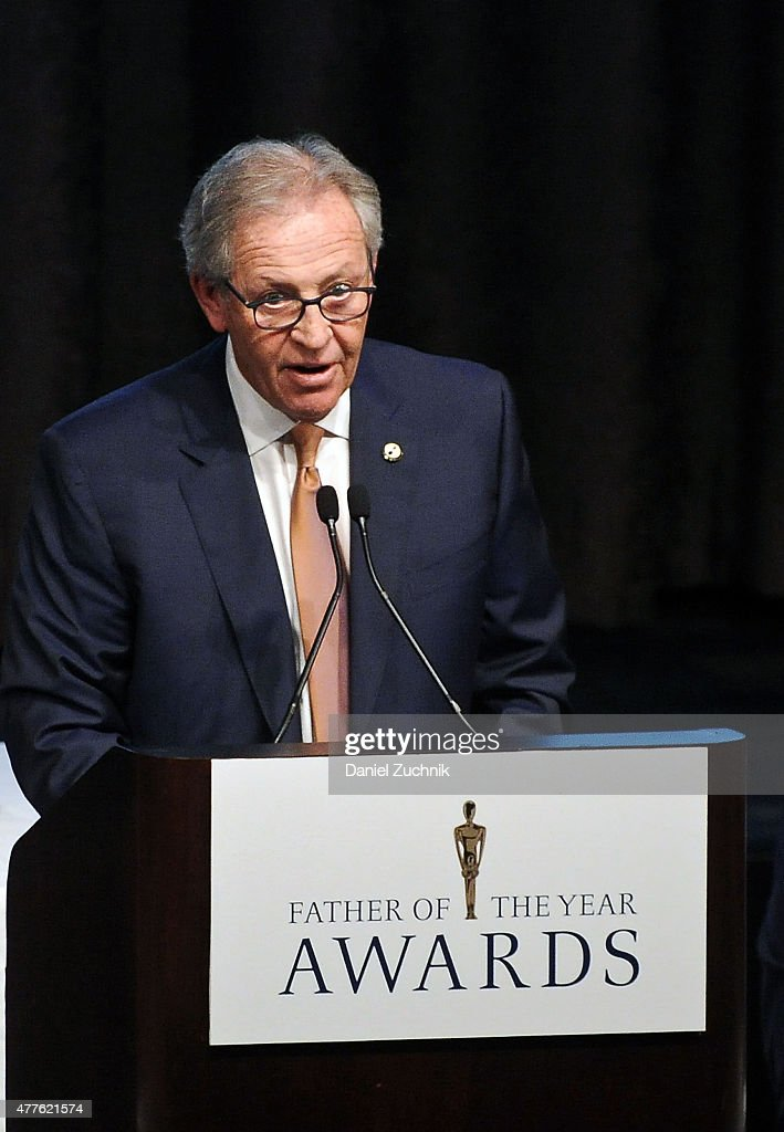 Morris Goldfarb attends the 2015 Father Of The Year Luncheon Awards at New York Hilton on June 18, 2015 in New York City.