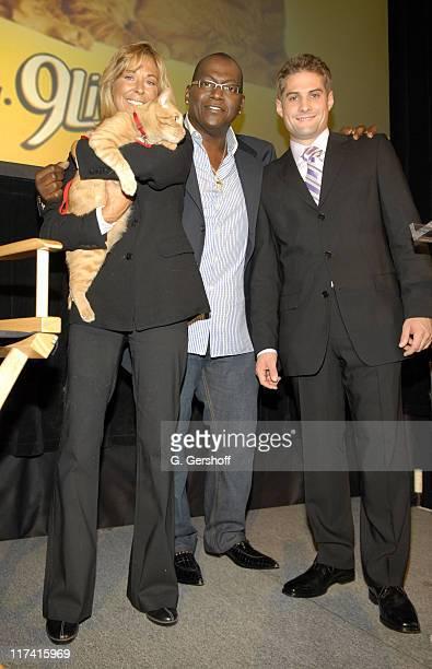 Morris the Cat Randy Jackson and Ryan Thomas Brand Director 9 Lives