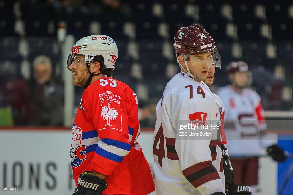 ZSC Lions Zurich v Sparta Prague - Champions Hockey League ...