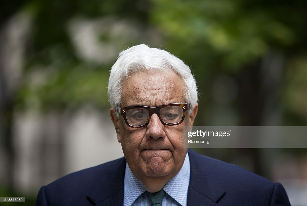 Morris Zukerman, chairman of ME Zukerman & Co., exits federal court in New York, U.S., on Monday, June 27, 2016. Oil-industry investor Zukerman admitted to evading tens of millions of dollars in taxes, pleading guilty to federal charges that could send him to prison for more than seven years. Photographer: Eric Thayer/Bloomberg via Getty Images