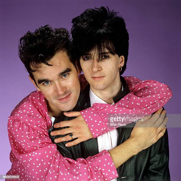 Morrissey And Johnny Marr of The Smiths Morrissey And Johnny Marr