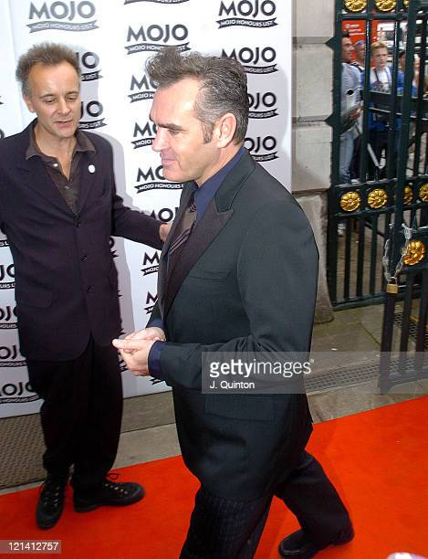 Morrissey during Mojo Honours List Awards 2004 Arrivals at Banqueting Hall in London Great Britain