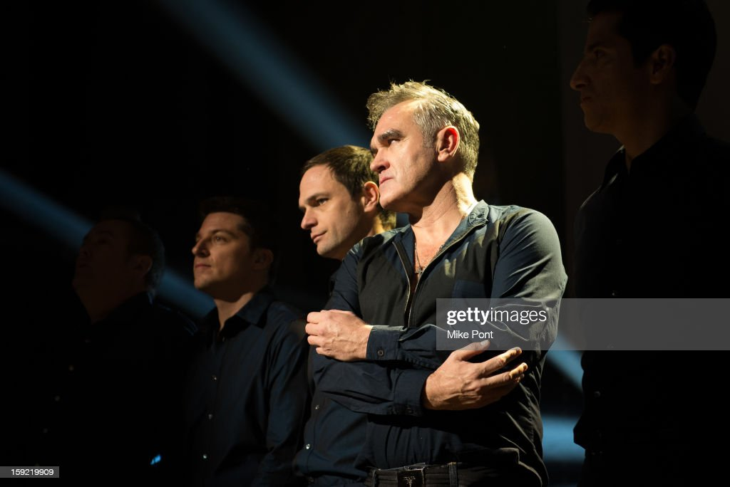 <a gi-track='captionPersonalityLinkClicked' href=/galleries/search?phrase=Morrissey+-+Singer&family=editorial&specificpeople=11521934 ng-click='$event.stopPropagation()'>Morrissey</a> performs at Tilles Center for the Performing Arts on January 9, 2013 in Greenvale, New York.