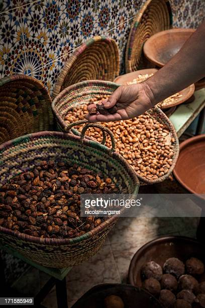 Morrocan Argan fruit for oil extraction