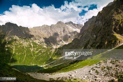 'Morskie Oko' Lake in Tatra Mountains